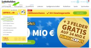 Lotto SuperDing Lottohelden