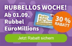 Rubellos Woche Euromillions